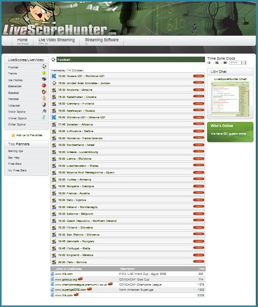 Www.Livescorehunter.Com