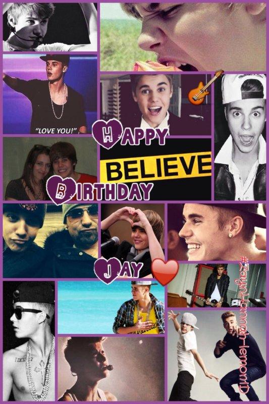 Joyeux Anniversaire Justin ♥