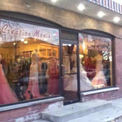 Bienvenu chez Creation Monik le plus grand choix de robe de bal