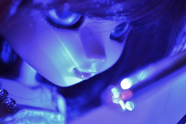 Photos dans la lumière multicoloooooooore *o*