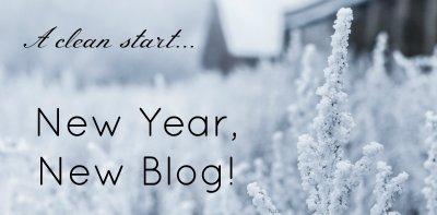 Nouveau blog, nouvelles écritures..?