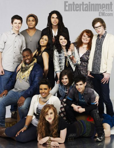 The Glee Project: 12 participants, 1 rôle dans Glee!