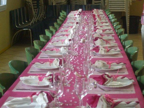 D coration de table faite pour un bapteme sur le th me les for Decoration de table pour bapteme fille