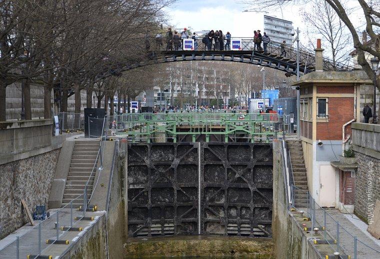La remise en eau du canal Saint-Martin retardée d'une semaine