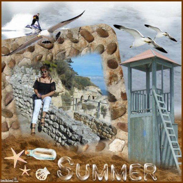 ((_,»*¯*«(((l))) Hello  Bjr je reviens pour vous mes amis(es) (((l))) »*¯*«,_)) Et partager une autre création vidéo du mois de septembre en plus du mois d'août que vous avez pu voir ! Alors il y a une suite des clichés photos pour une excursion en bateau à Talmont et visite guidé des grottes de régulus  ✿❀¸¸¸. •*´¯`❀(l)