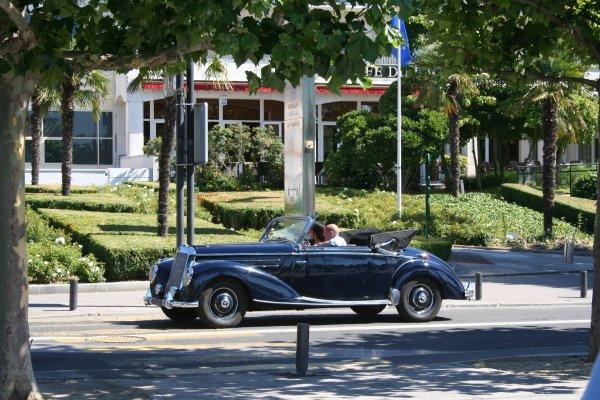 Départ pour la balade au lac d'Enghien le 22 juillet 2012