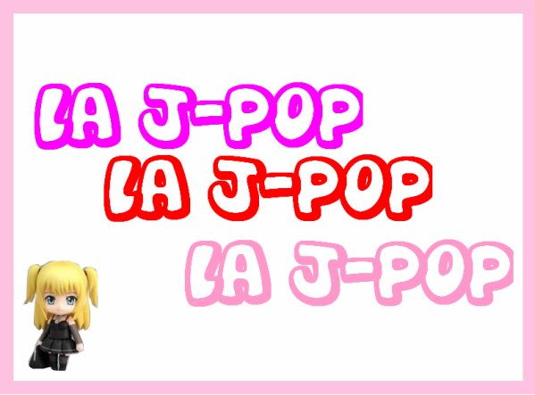 J-pop ? c'est quoi ?