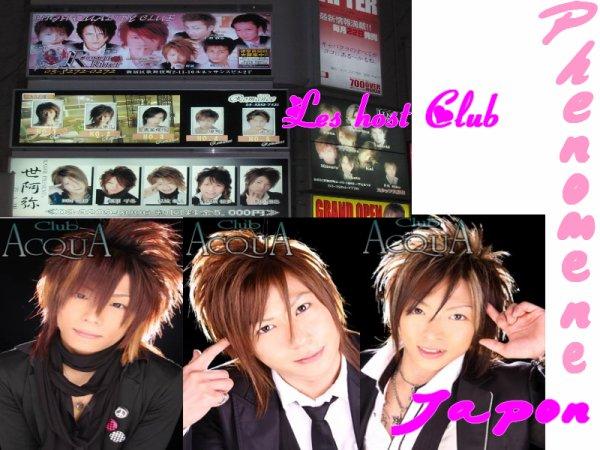 Les Host club / Club d'hôtes