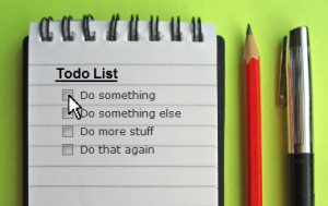 My To do List !!