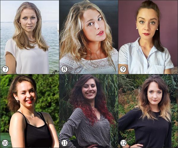 Candidates Miss Pays de Savoie 2017