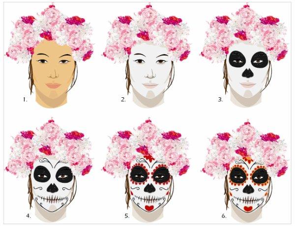 maquillage halloween blog de pandorasecret. Black Bedroom Furniture Sets. Home Design Ideas