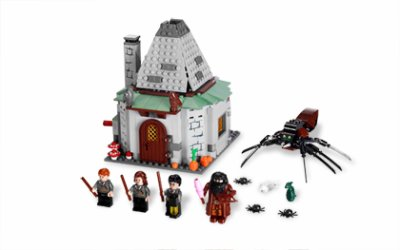 LEGO 4738 : La cabane de Hagrid (3ième version)