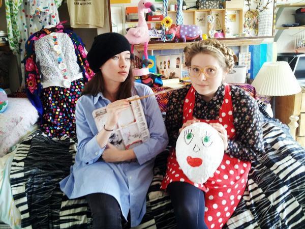 Septembre 2012 - Anna dans une video avec Jessie Cave
