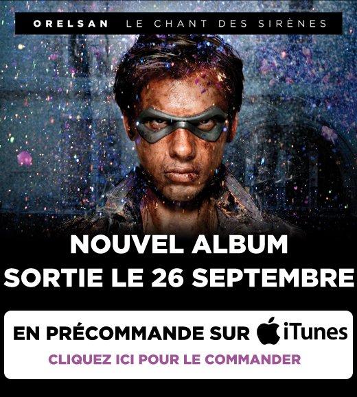 Précommandez l'album sur iTunes!
