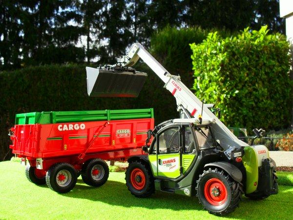FENDT 415 & CARGO CP 120 & CLAAS SCORPION