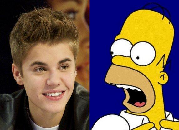 Justin Bieber dans les Simpsons!