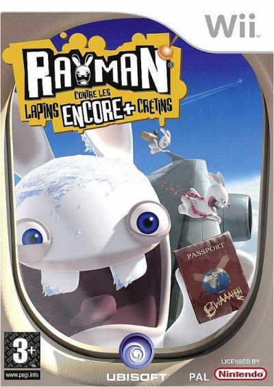 on à testé....Rayman contre les lapins encore plus crétins