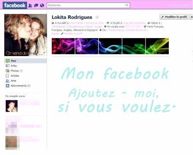 Mon Facebook .