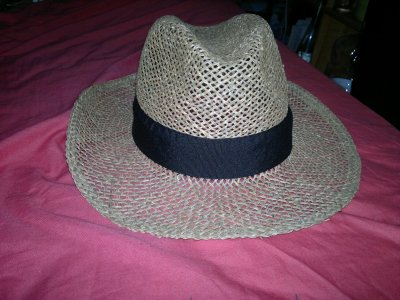 Chapeau de paille ( Authentique Italien )