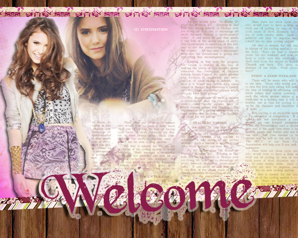➜ StarsCreations.skyrock.com « Welcome » Decoration ~ Création ~ Texte