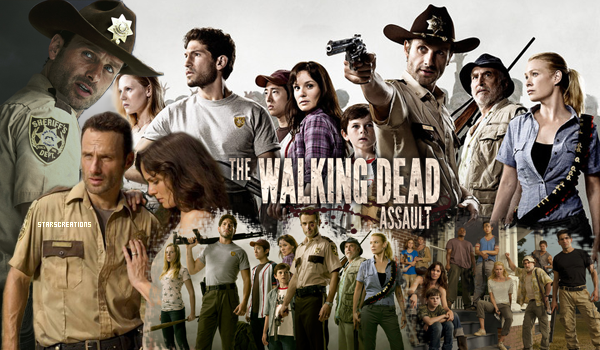 ➜ StarsCreations.skyrock.com « The Walking Dead & Supernatural » Decoration ~ Création ~ Texte