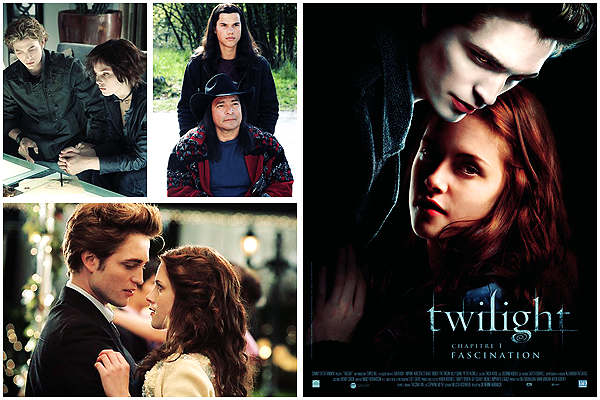 Twilight 1, 2, 3 et 4