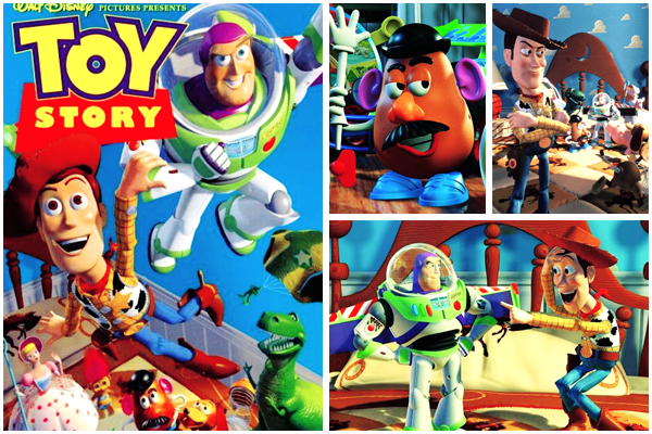 Toy story 1, 2 et 3