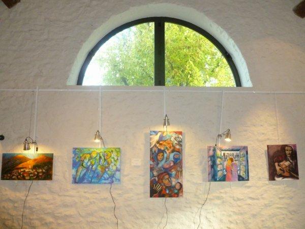 Exposition A Boussy Saint Antoine sur le thème de Jean Ferrat