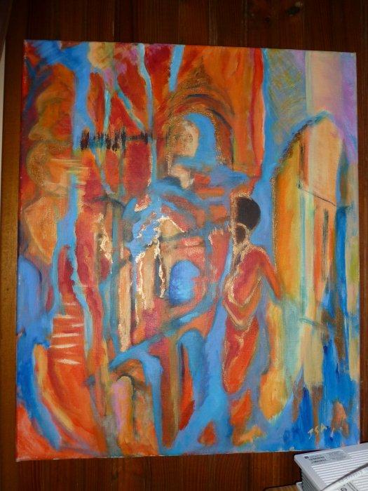 le monde d'ISA en peinture