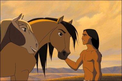c'est beau quand tu donnes de l'amour a un cheval