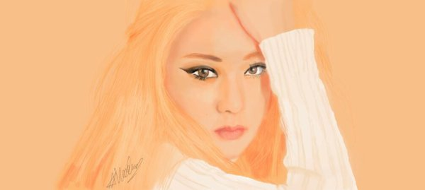 Fanart Krystal - red light