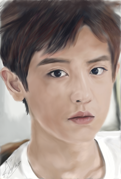 fanart graphic chanyeol