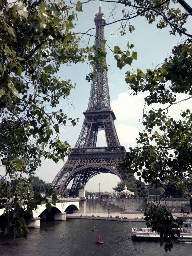 I went to Paris last night (in my dreams)