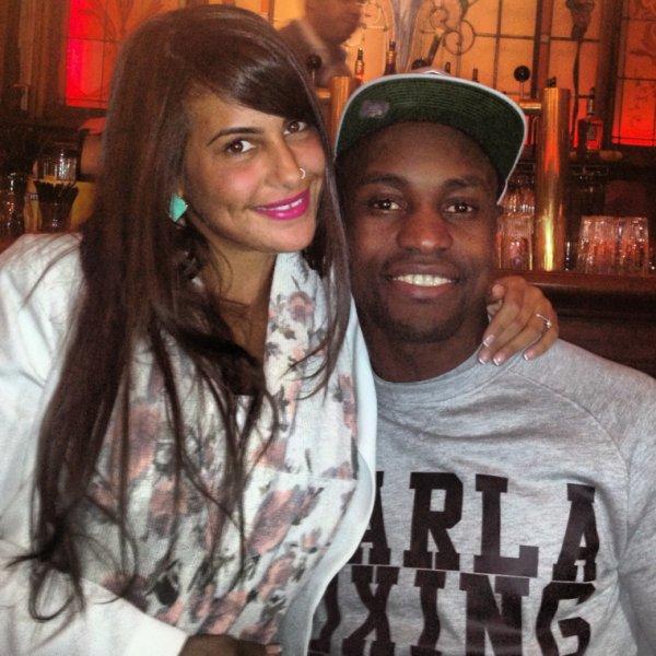 Alka Matewa et sa fiancée Leïla R.
