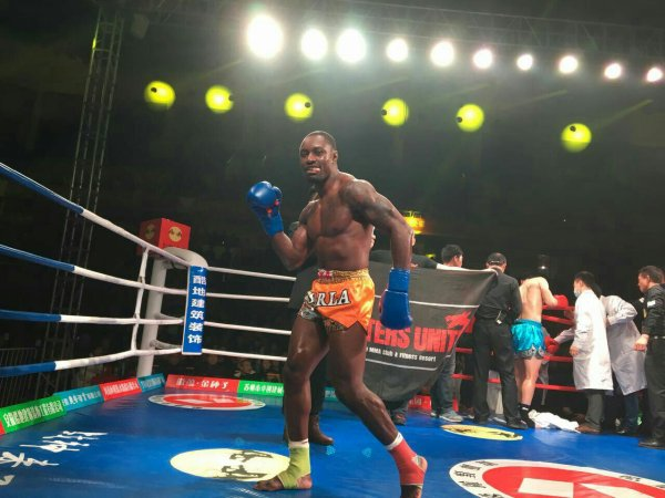 Alka Matewa fight in China