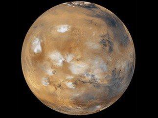 Mars pourrait être frappée par une comète