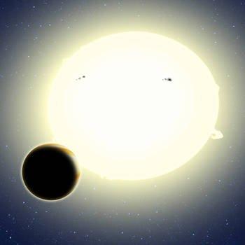 Kepler découvre une exoplanète grâce à la théorie de la relativité.