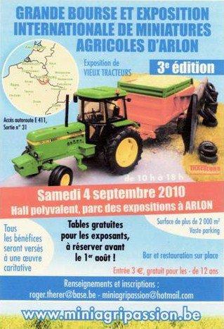 Arlon 2010   l'affiche