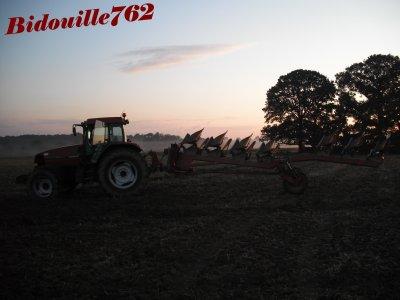 Semis colza 2010, labour