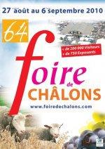 Châlons-en-Champagne, 27 Août au 06 Septembre 2010