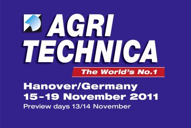 AGRI TECHNICA 2011, HANNOVRE ( ALLEMAGNE ) 15 au 19 Novembre 2011