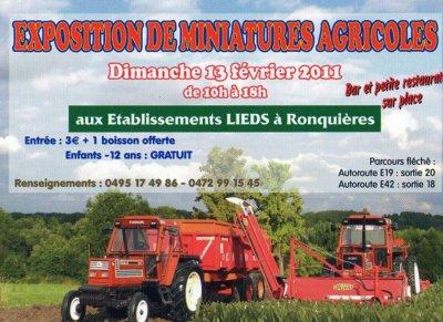 Ronquières 2011   l'affiche