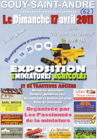 Gouy-Saint-André 2011   l'affiche