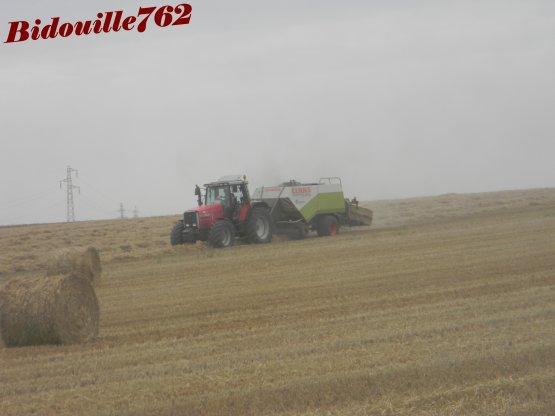 Pressage blé 2011