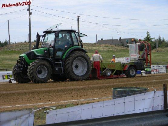 Tracteur Pulling Bernay 2012