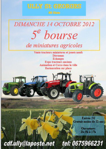 Ully Saint Georges 2012   l'affiche
