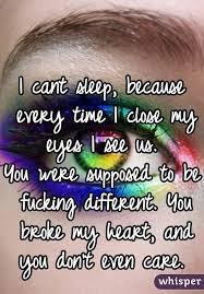 Je comprendrai un jour que je mérite d'être heureuse et que toi, tu ne l'avais pas compris...
