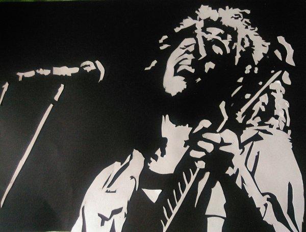 Collage BoB Marley sur scène