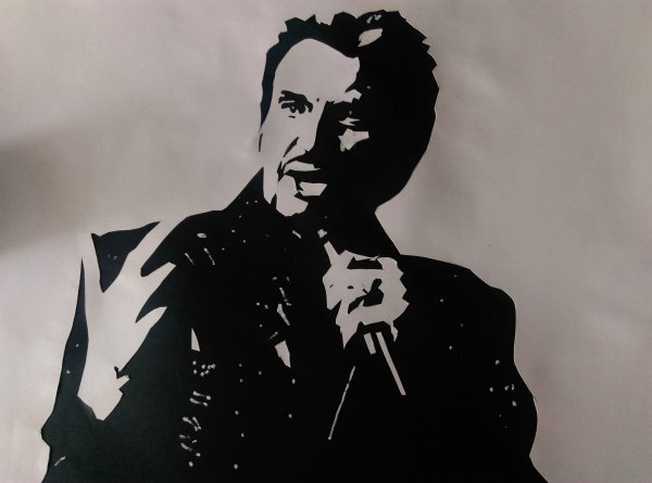 Collage Johnny Hallyday