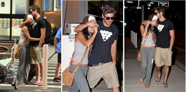 Zanessa arrive in L.A. ♥---{25/08/2010}---♥